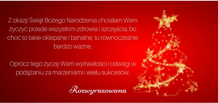 Wszystkiego najlepszego z okazji Świąt Bożego Narodzenia!